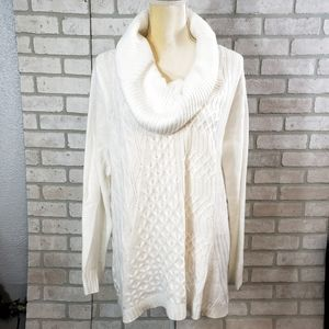 ANA NWT 💥 Cowl Sweater Size XL